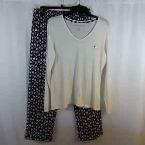 NWOT Nautica Two-Piece Pajama Set